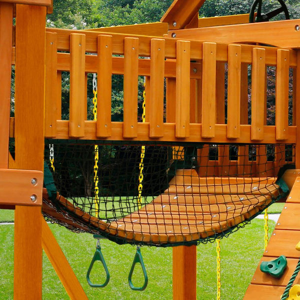 Gorilla Playsets 01-0090-AP Empire Extreme Cedar Swing Set and Residential Wood Playset New
