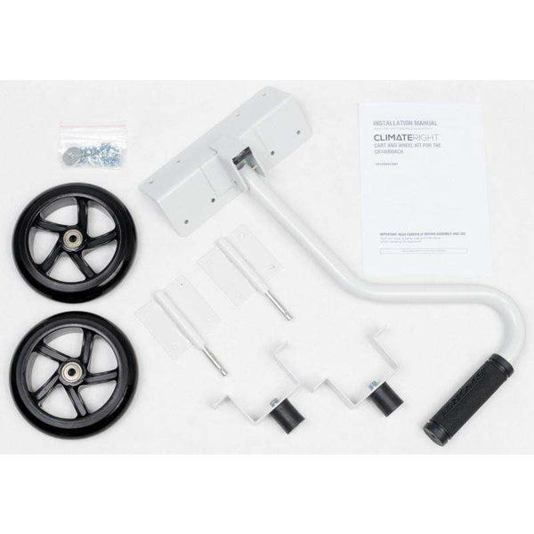 Cart and Wheel Kit For ClimateRight CR-10000-ACH