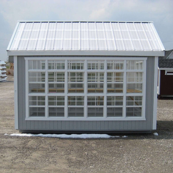 Little Cottage Company 10 ft. x 12 ft. Colonial Gable Greenhouse DIY Kit New