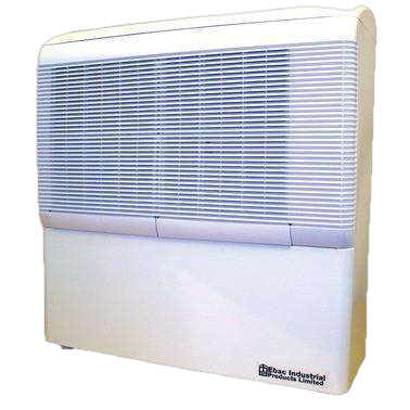 Ebac AD850E Streamlined Wall-Mounted Dehumidifier - FactoryPure