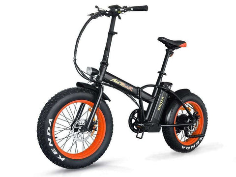 "Addmotor MOTAN M150 48V 500W 20"" Folding Electric Fat Tire Bike Orange New"