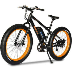 "EMOJO Wildcat EBK03-02 48V 500W 26"" Fat Tire Electric Bike Black/Orange New"