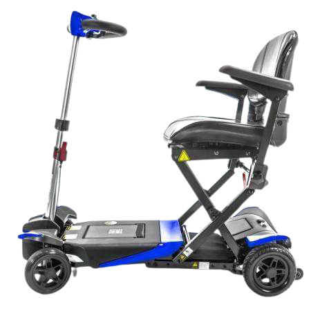 Enhance Mobility Transformer Electric Folding Mobility Scooter Blue New