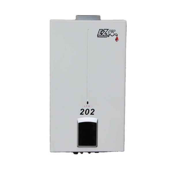 EZ Tankless EZ-202-NG 4.0 GPM 85000 BTU Natural Gas Portable Tankless Water Heater New