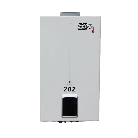 EZ Tankless EZ-202-LP 4.0 GPM 85000 BTU Liquid Propane Portable Tankless Water Heater New