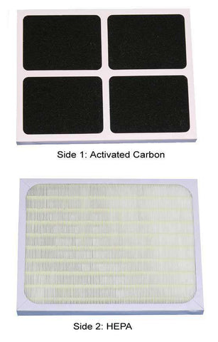 Sunpentown 3000F HEPA/Carbon Filter - FactoryPure