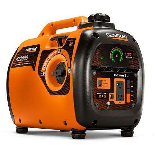 Generac IQ2000 1600W/2000W Ultra Quiet Inverter Generator New