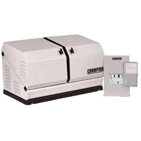 Champion 100176 Home Standby Generator 12.5kW Nema 1 Transfer Switch - FactoryPure - 1