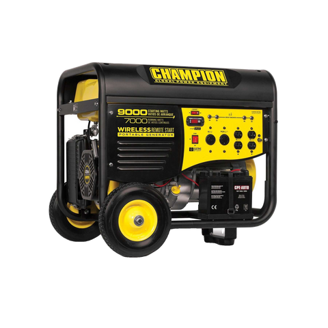 Champion 41532 7000W/9000W Wireless Remote Generator Manufacturer RFB - FactoryPure