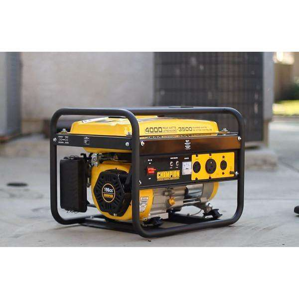 Champion 46596 Portable Generator (3500/4000W) - FactoryPure - 2