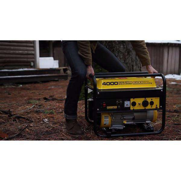 Champion 46596 Portable Generator (3500/4000W) - FactoryPure - 3