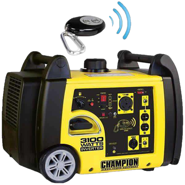 Champion 75537i Inverter with Wireless Remote - FactoryPure - 1