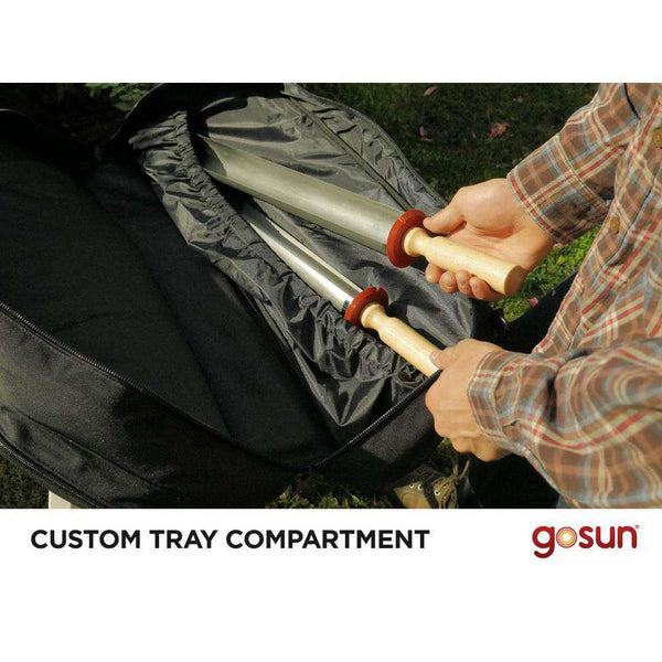 GoSun Sport Pro Pack Smokeless Portable Solar Grill in Stainless Steel New