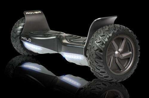"Halo Rover Electric Hoverboard Bluetooth 8.5"" Black Manufacturer RFB"