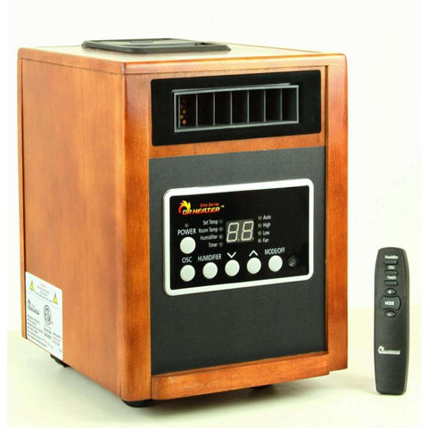 Dr. Heater Infrared DR998, Advanced Dual Heating System - FactoryPure