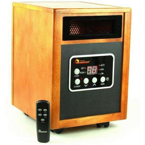 Dr. Heater Infrared Portable Space Heater with Remote control - FactoryPure