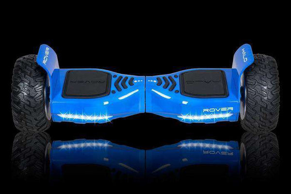 "Halo Rover Electric Hoverboard Bluetooth 8.5"" Blue Manufacturer RFB"