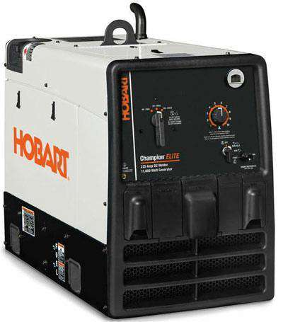 Hobart 500562 Champion Elite 11000W AC and 225A DC stick Welder Generator Combo New