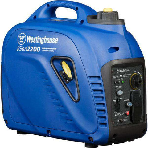 Westinghouse IGen2200 1800W/2200W Gas Powered Portable Inverter Generator New
