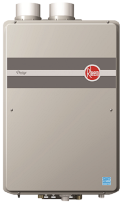 Rheem RTGH-95DVLP-1 9.5 GPM Prestige Series Condensing Indoor Direct Vent Propane Tankless Water Heater New