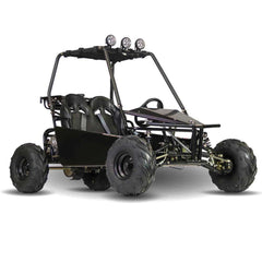 Kandi KD-125GKM-2 125cc 2-Seat Off-Road Gas Go Kart Black New