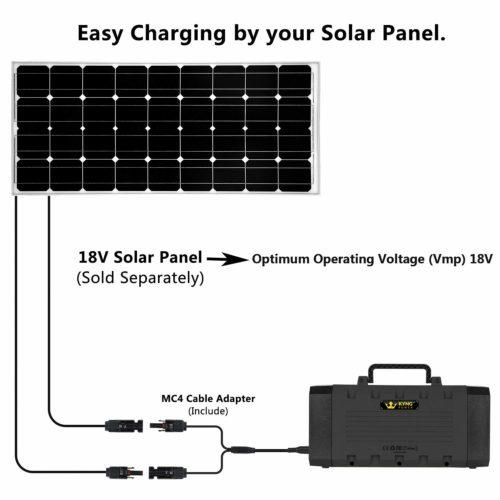 Kyng Power Portable 500W Solar Power Generator New