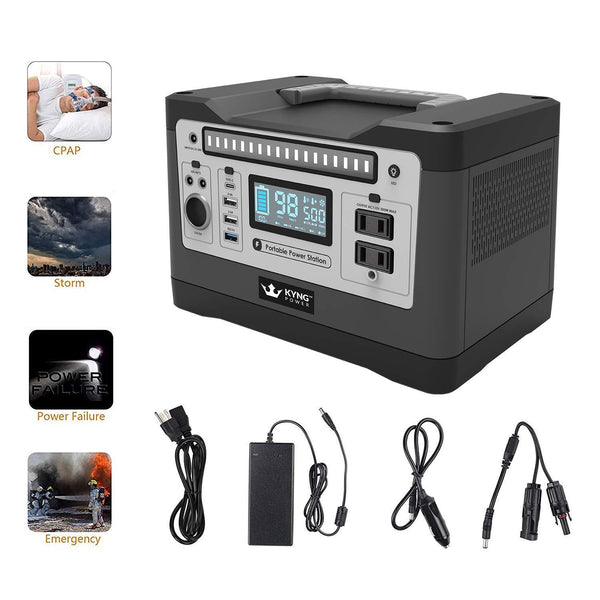 Kyng Power 540W Solar Generator Portable Power Station New