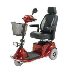 Merits S131 Pioneer 3 Three Wheel Scooter Red New