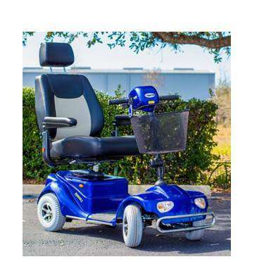 Merits S141 Pioneer 4 Four Wheel Scooter Blue New