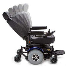 Merits Vision Super Heavy Duty Power Wheelchair Blue New