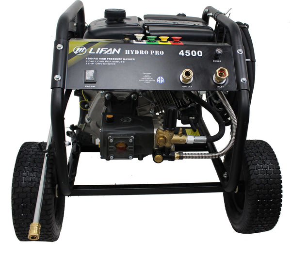 Lifan LFQ4515E Hydro Pro 4500 PSI 4 GPM Electric Start Pressure Washer Open Box (Never Used)