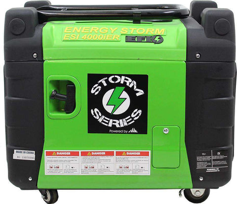Lifan ESi4000iER-EFI-CA 3800W/4100W Digital Inverter Remote Start Generator Open Box (Never Used)