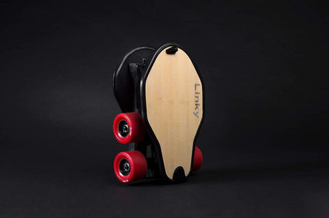 "Linky Innovation LINKYBAMBOO 32"" High Performance Foldable Electric Skateboard Bamboo Deck New"