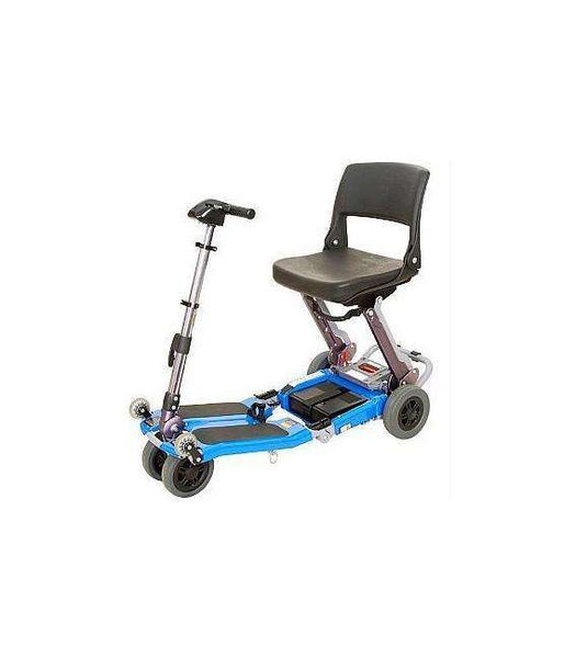 Luggie Standard Folding Travel Scooter Blue Open Box