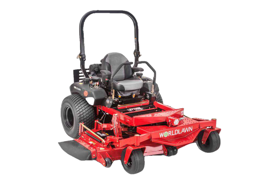 "WorldLawn WYP72FX1000V5 Python 72"" 35 HP Kawasaki Zero Turn Mower New"