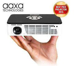 AAXA P300 HD LED DLP Mini Portable Pico Projector with 500 LED Lumens HDMI Mini-VGA New