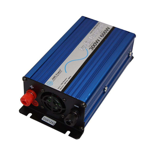 Aims Power PE60012230S 600 Watt Pure Sine Inverter New