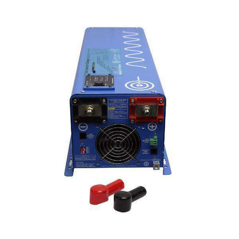 Aims Power PICOGLF40W12V240VS 4000 Watt Pure Sine Inverter Charger - Charges at 240 VAC New