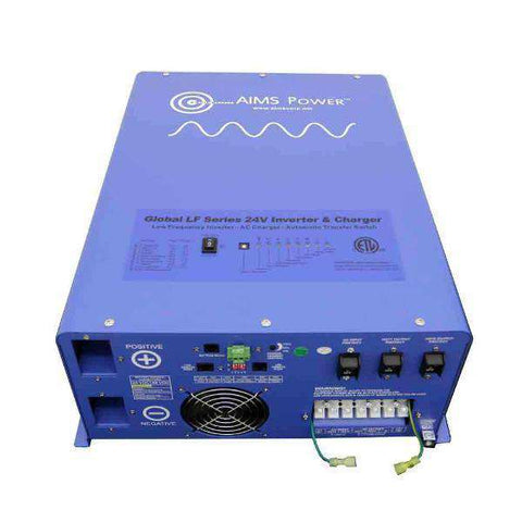 Aims Power PICOGLF6024120UL 6000 Watt Pure Sine Inverter Charger ETL Listed to UL 458 New