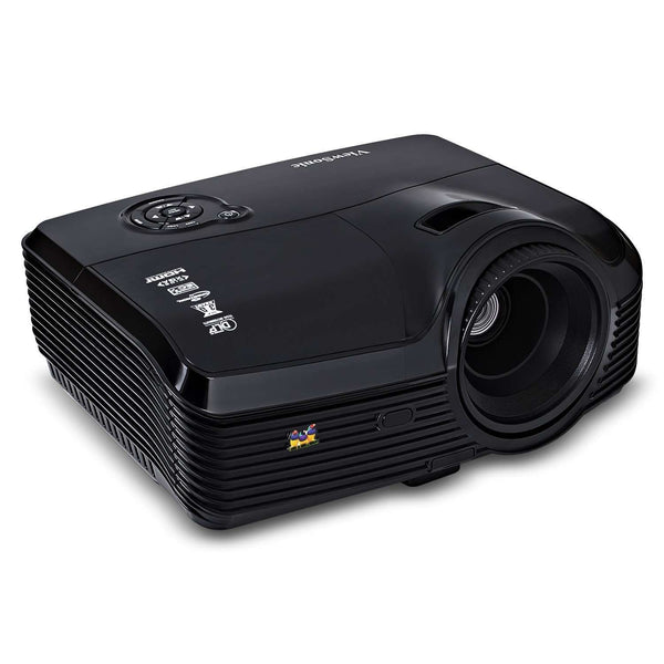 ViewSonic PJD7533w 3D 720p DLP Projector 4000 Lumens Black New