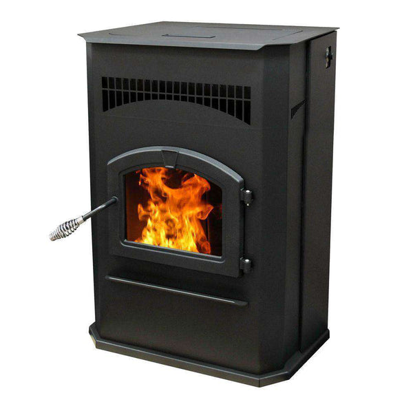 Pleasant Hearth PH50CABPS 2,200 Sq Ft 50,000 BTU 120lb Hopper with Auto Ignition Cabinet Style Pellet Stove New