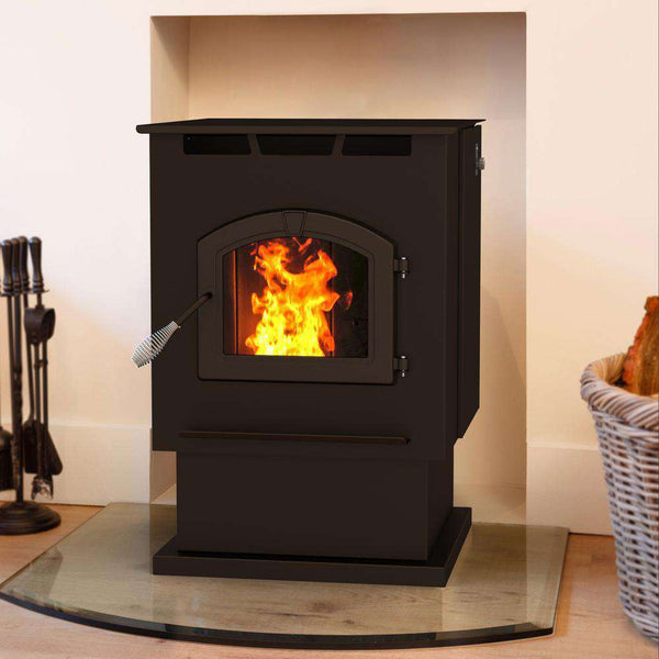 Pleasant Hearth Ph50ps 2 200 Sq Ft 50 000 Btu 80lb Hopper