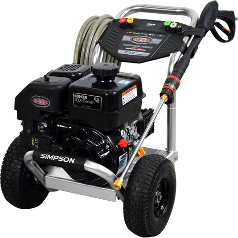 Simpson Aluminum 3200 PSI Kohler CH270 Gas Pressure Washer - FactoryPure - 1