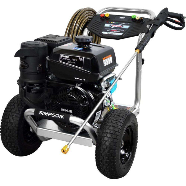 Simpson Aluminum 4000 PSI Kohler CH395 Gas Pressure Washer - FactoryPure - 1