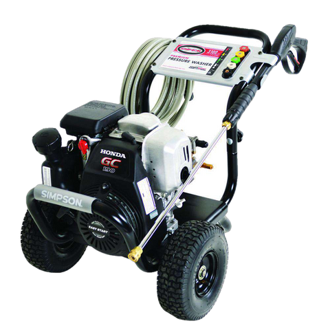 Simpson MegaShot 3100 PSI Honda GC190 Gas Pressure Washer - FactoryPure - 1