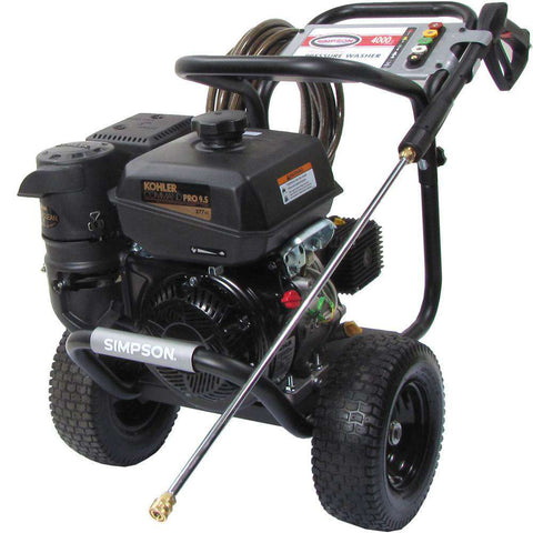 Simpson PowerShot 4000 PSI Kohler CH395 Gas Pressure Washer - FactoryPure