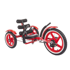 Mobo Mobito Sport TRI-202R The Ultimate Three Wheeled Youth Cruiser Red New