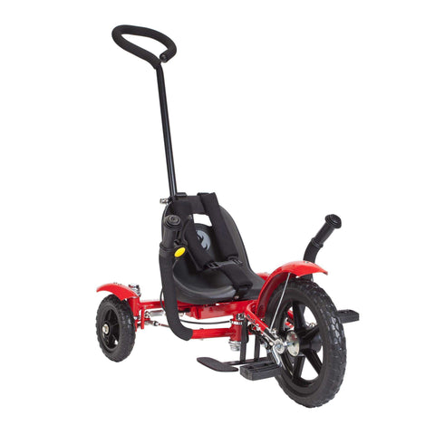 Mobo Total Tot TRI-703R The Roll-to-Ride Three Wheeled Red Cruiser Red New