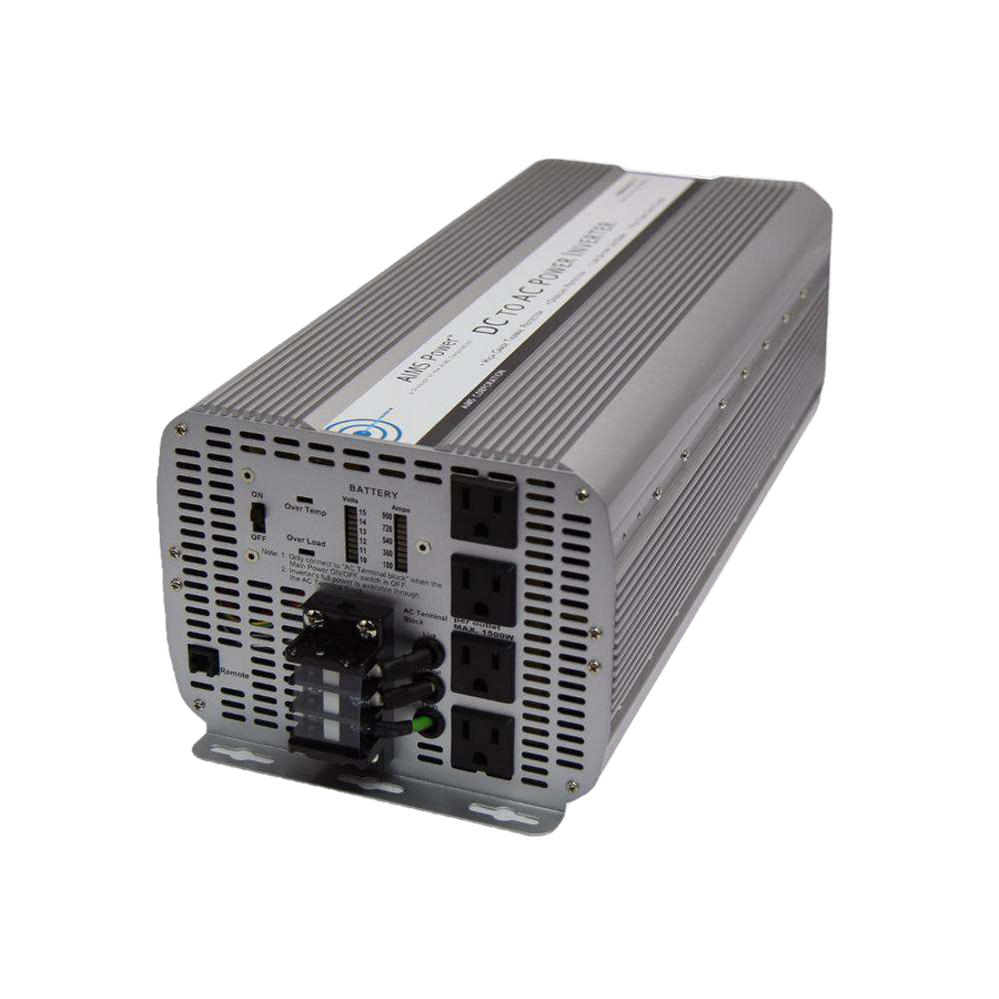 Aims Power PWRINV8KW12V 8000 Watt Power Inverter New