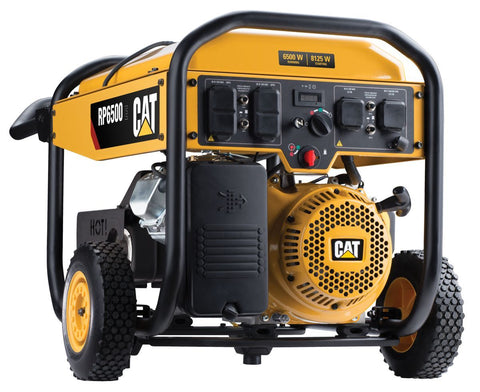 CAT RP6500-CARB 502-3688 6500W/8125W Electric Start Portable Gas Generator New